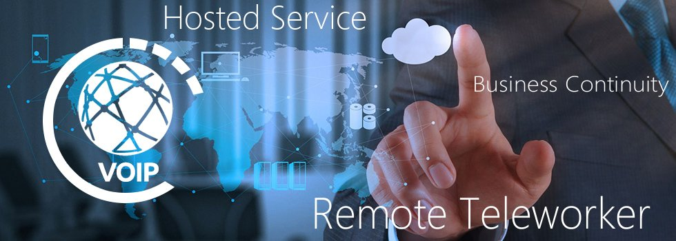 Powerful hosted voice and unified communications.
